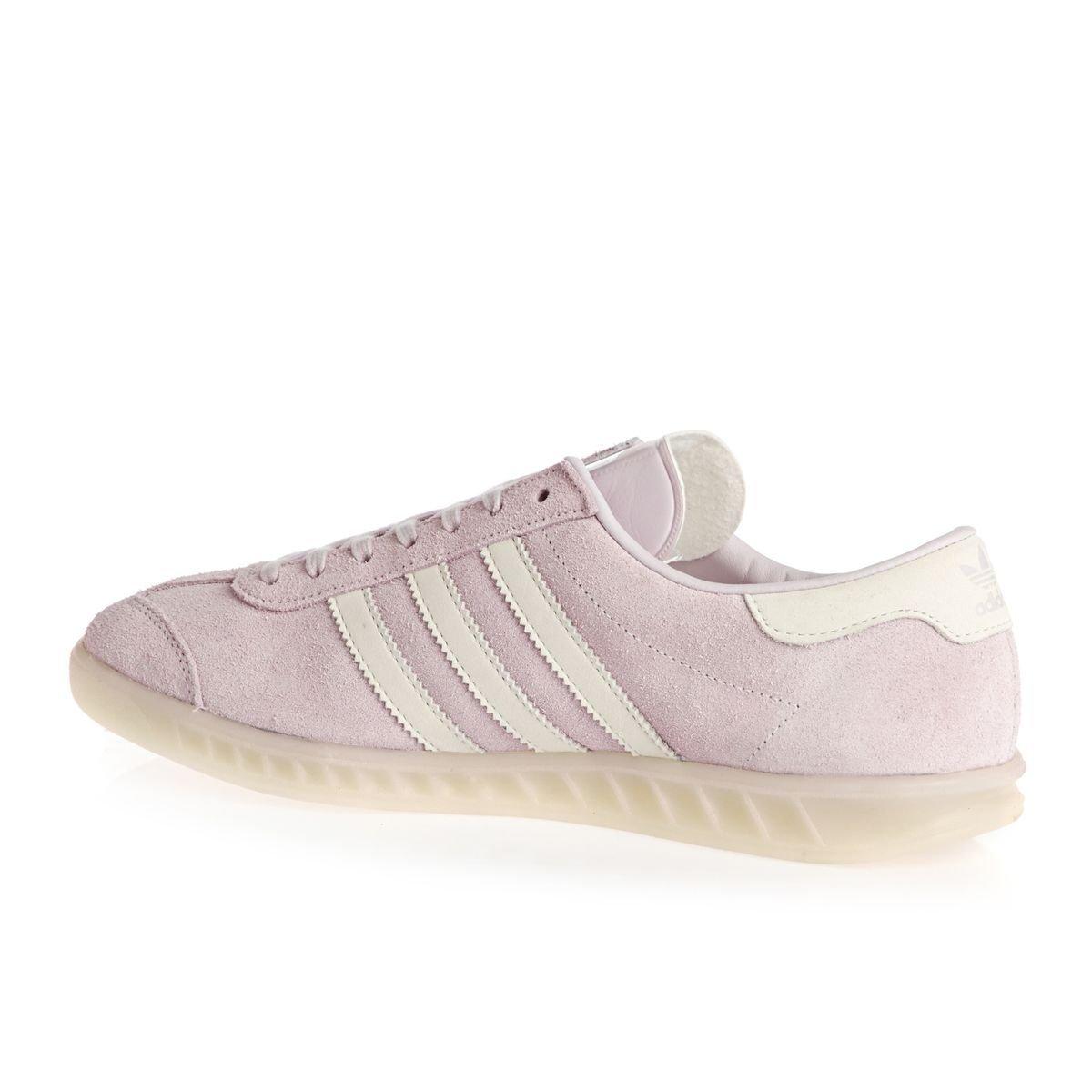 new concept 3db0f 80d25 adidas Hamburg W Ice Purple White White 41 Amazon.co.uk Shoe