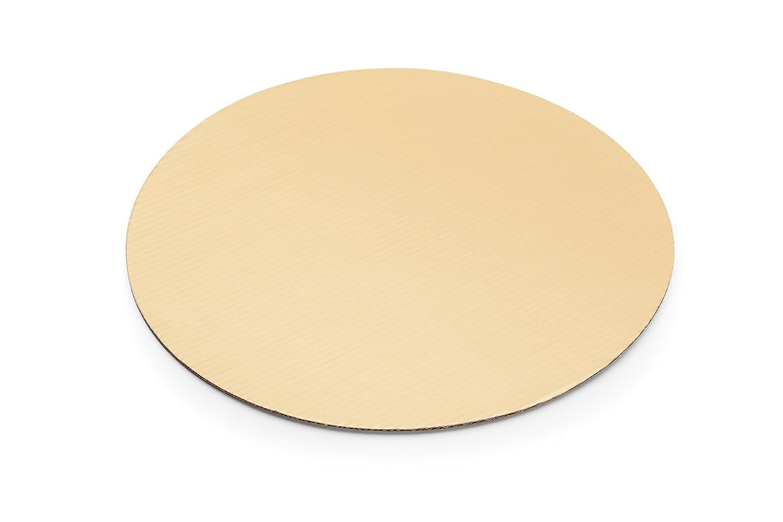 Fox Run 48738 Boards-12-Piece Cardboard Scalloped Cake Circle Base, 10, Silver 10