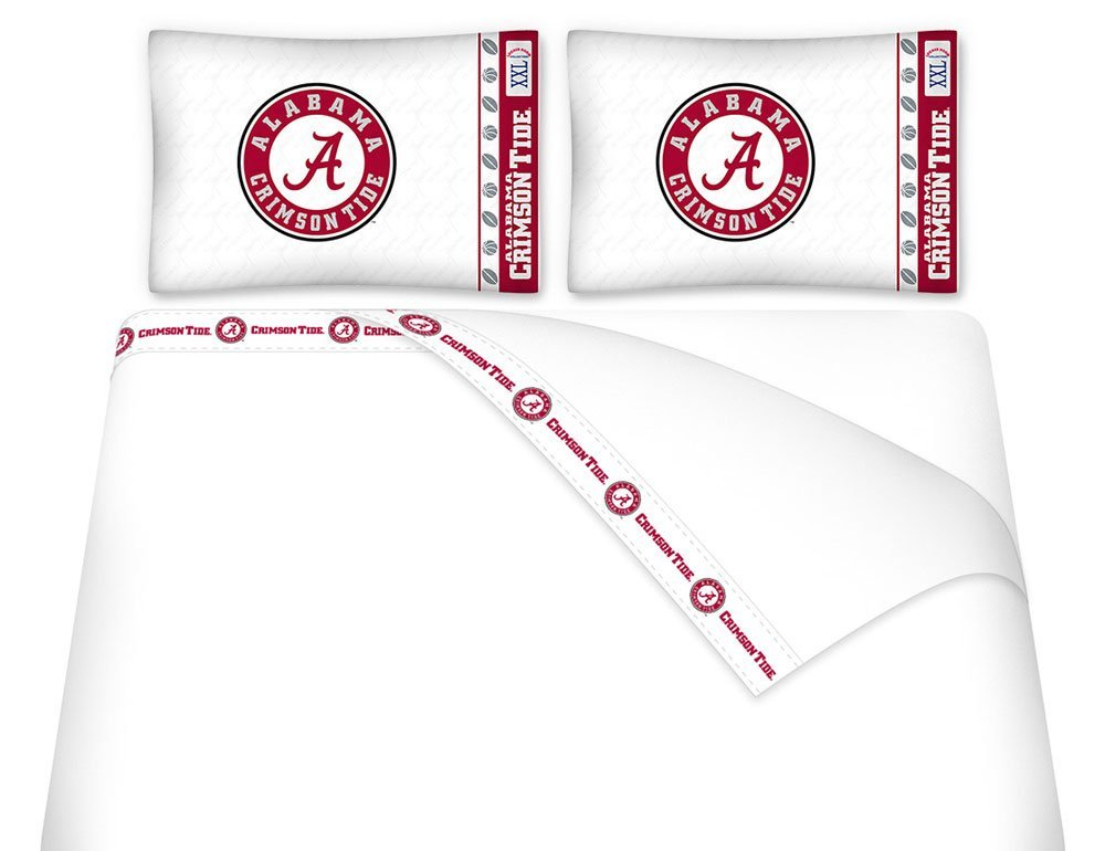 NCAA Alabama Crimson Tide - 5pc BED IN A BAG - Queen Bedding Set by Dream Time Kids Bedding (Image #1)