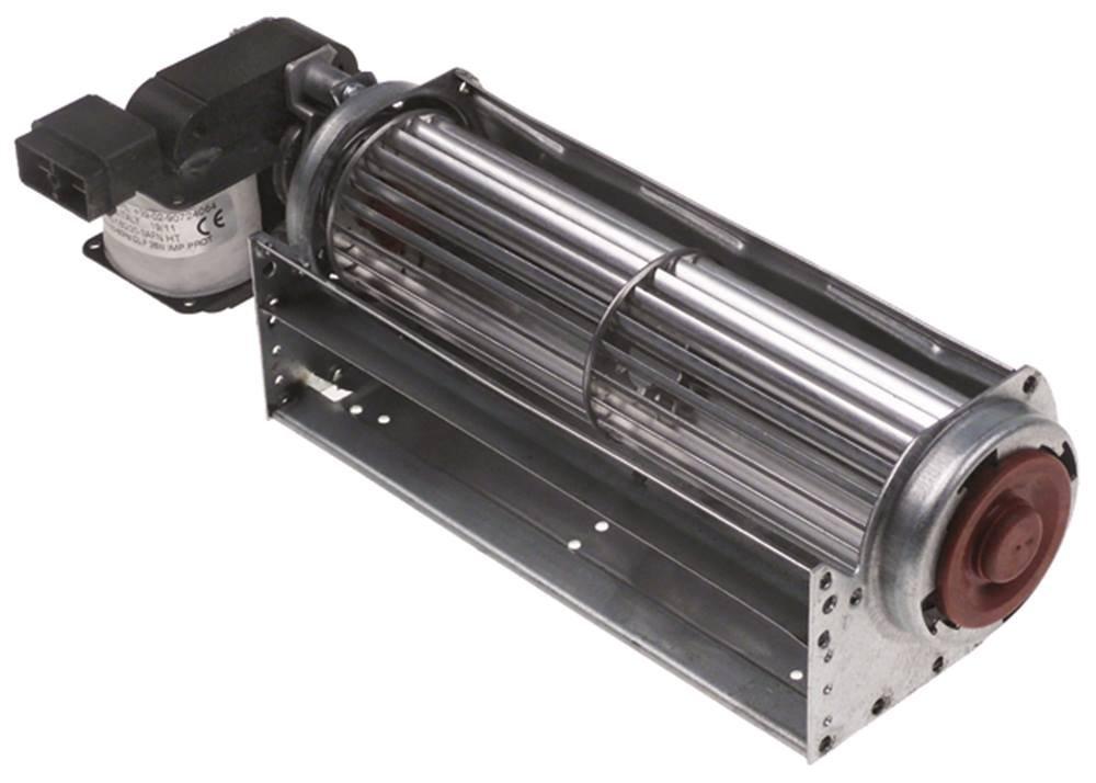 Querstromlüfter Ø 45 mm L 240 mm 25 W 230 V Lager aus Silikon universal