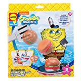 SpongeBob Krabby Patty Flip Game Bath Toy