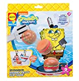 SpongeBob Krabby Patty Flip Game Bath Toy