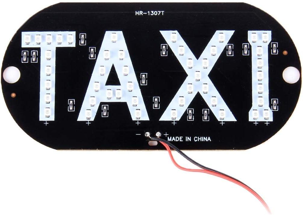 Plafonnier Taxi 3W Red Light Taxi D/ôme Lampe avec 45 lumi/ères LED Couleur : Color1 DC 12V XY