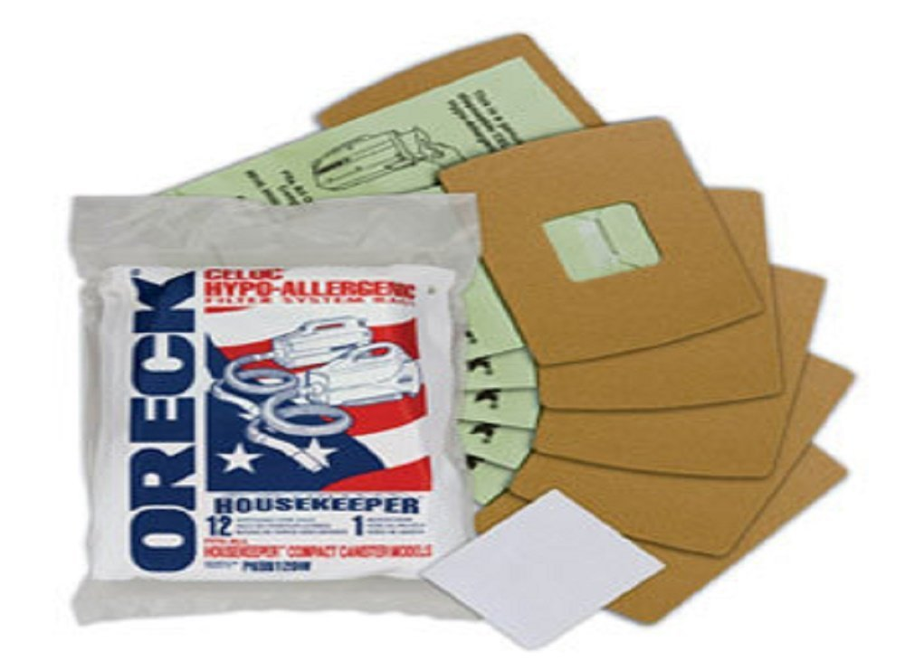 Genuine Oreck XL Buster B Canister Vacuum Bags PKBB12DW Housekeeper Bag by Oreck