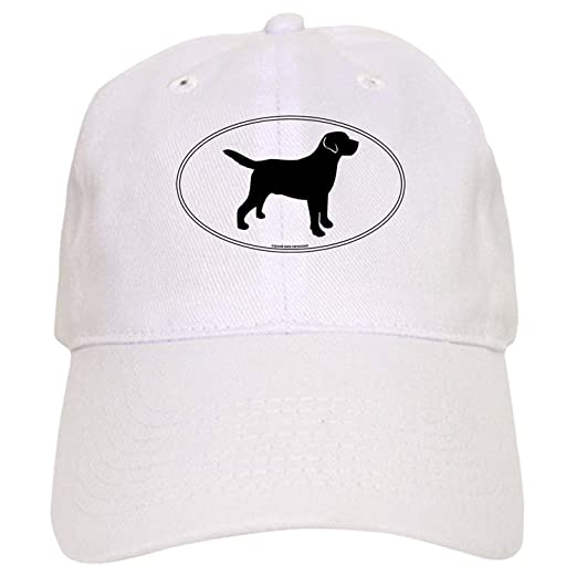 7eeaabffc Black Lab Outline Cap - Baseball Cap with Adjustable Closure, Unique ...