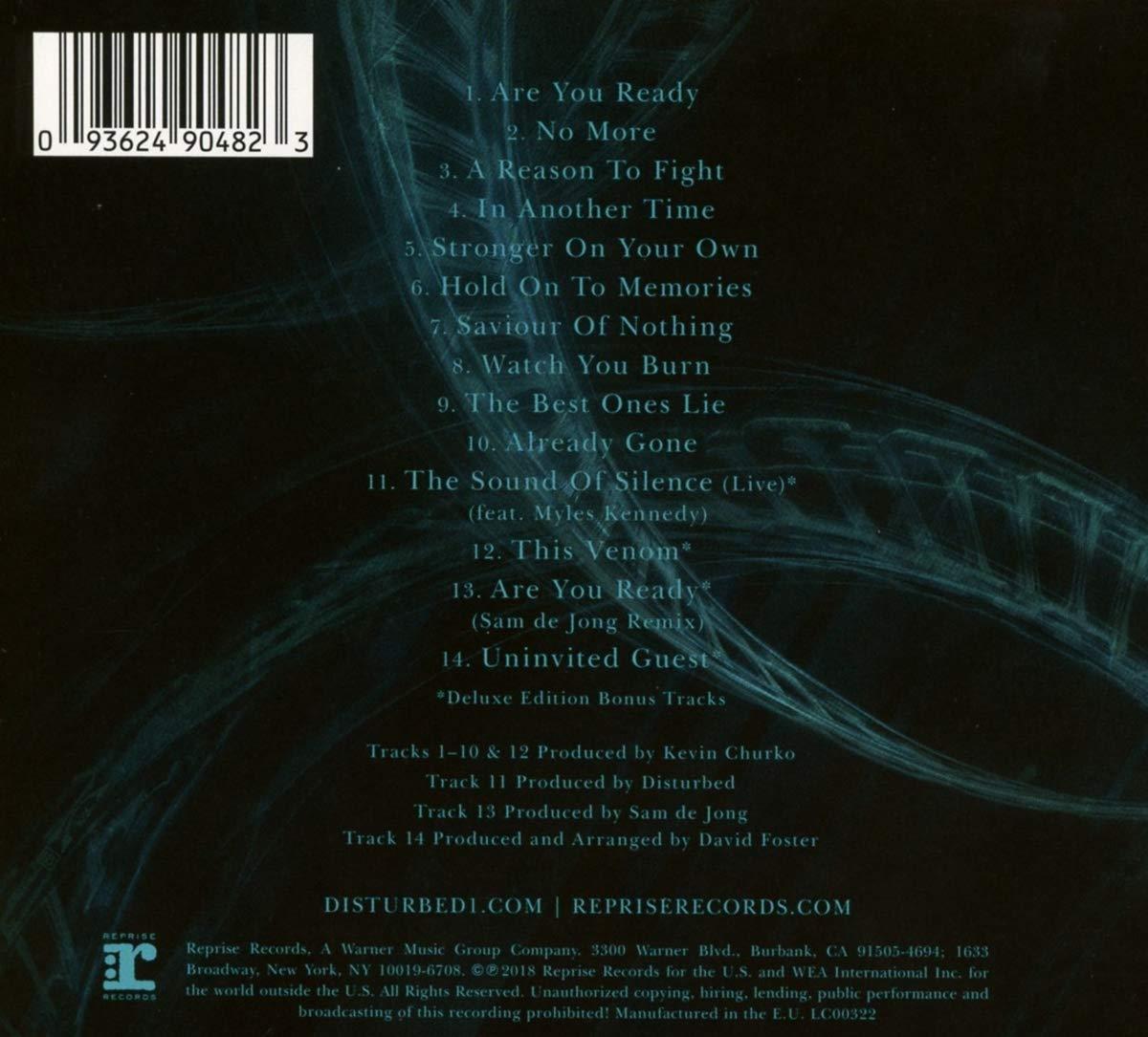 Evolution - Deluxe CD - Disturbed: Amazon.de: Musik