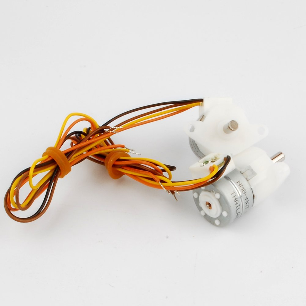 NW 3PCS NMB Dia 15mm 5V Deceleration Micro Motor 2 phase 4 wire Stepper Motor Step Angle 15 Degree
