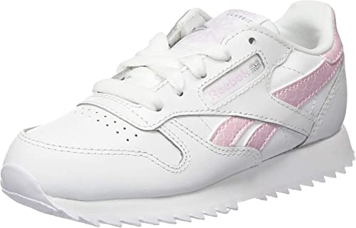 Zapatillas Reebok Classic Leather Blanco Niña: Amazon.es: Zapatos y complementos
