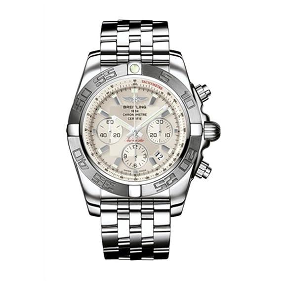 Breitling AB011011-G676-744P - Reloj suizo automático para hombre: Amazon.es: Relojes