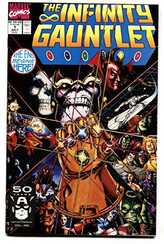 Infinity Gauntlet #1 First issue-Thanos-comic book High Grade NM-