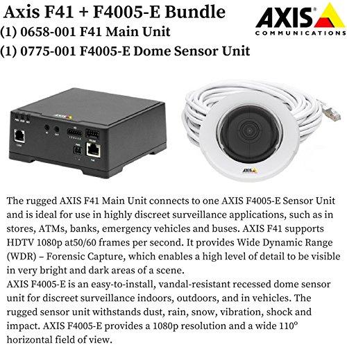 axis-bundle-0658-001-f41-main-unit-0775-001-f4005-e-dome-sensor-unit