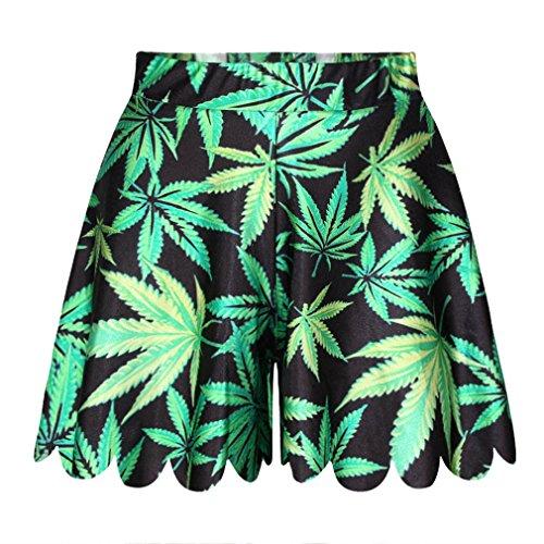 Qiyuxow Womens Stretch Digital Marijuana product image