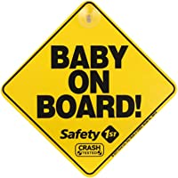 Safety 1st Baby on Board Sign for Car