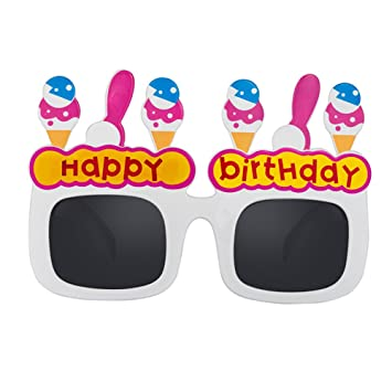 Funny Rotyr Creativo Hielo CR eam Gafas Feliz cumpleaños ...