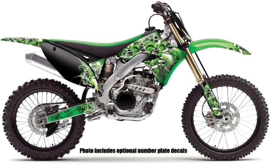 Jester Green Complete Senge Graphics kit 2006-2008 KX 450F Compatible with Kawasaki