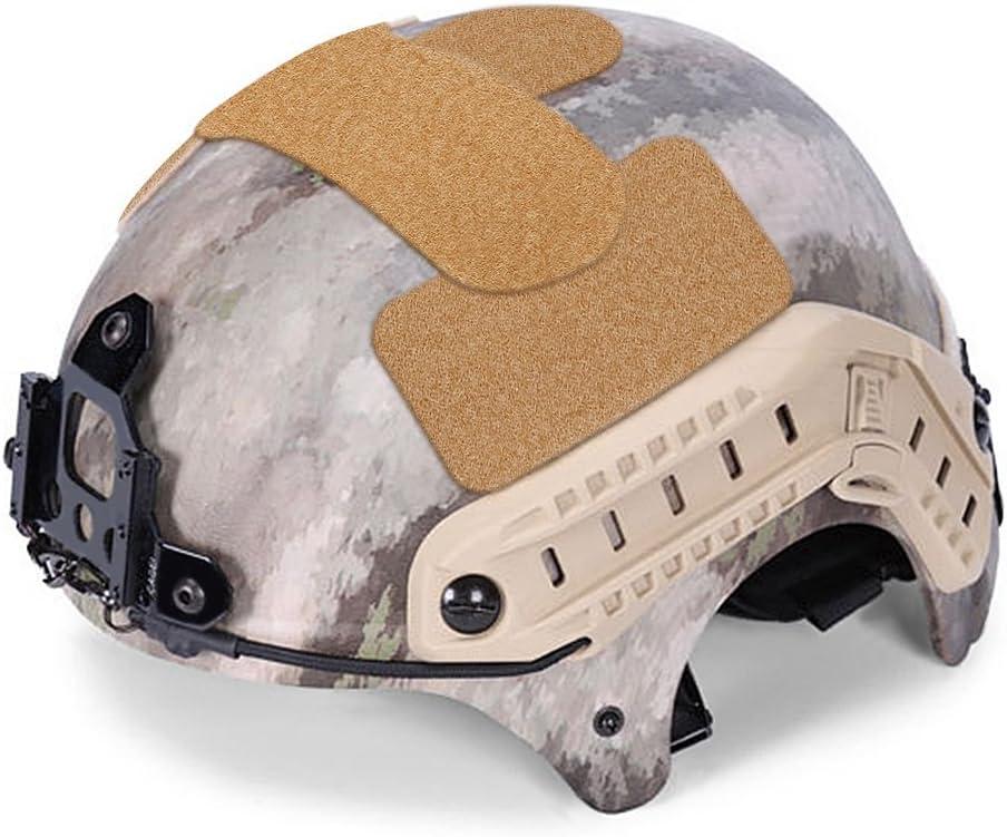 DIY Helm Aufkleber Magic Tape 5 St/ück stark klebende Helm Patch Hook Loop Aufkleber Milit/är Zubeh/ör f/ür IBH Helme