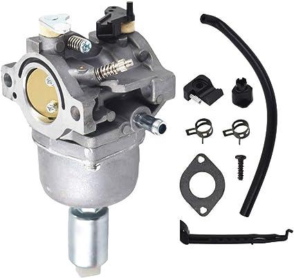 MIA12509 Carburetor Compatible with John Deere L107 L108 115 LA115 LA105 D110 LA125 Lawn Mower Tractor with GY20573 M149171 Air Filter Pre Fuel Filter MIA11474 MIA11520