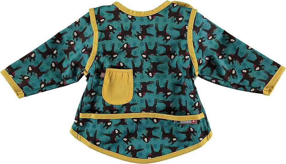 Pop-In Bib, Stage 3, Deer Coverall, 6 to 18 Months Close Parent Ltd 470631