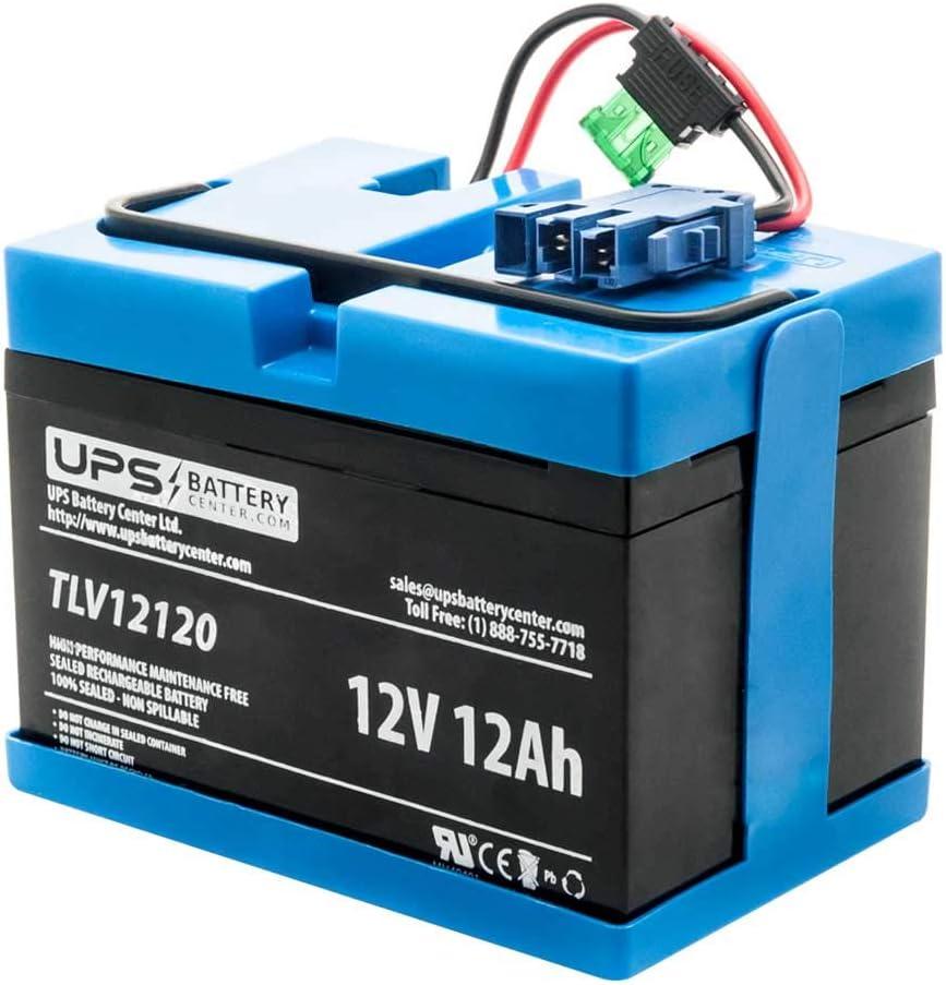 UPSBatteryCenter Replacement for 12 Volt Peg Perego Polaris Slingshot Ride-on Battery