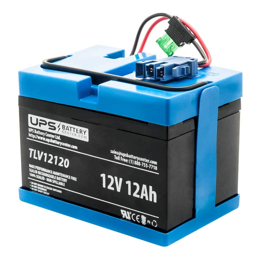 UPSBatteryCenter Replacement for 12 Volt Peg Perego Jeep Ride-on Battery