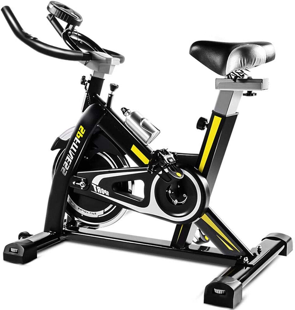 Lwieui Bicicleta de Spinning Home Fitness Equipment Silencio ...