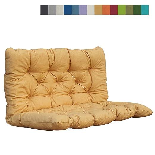 Akadas - Cojín para Muebles de jardín, Color Dorado: Amazon ...