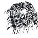 Sothread Fashion Unisex Women Men Arab Shemagh Keffiyeh Palestine Scarf Shawl Wrap