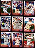 Cleveland Indians 2015 Topps MLB Baseball Regular Issue Complete Mint 22 Card Team Set with Nick Swisher, Corey Kluber Plus