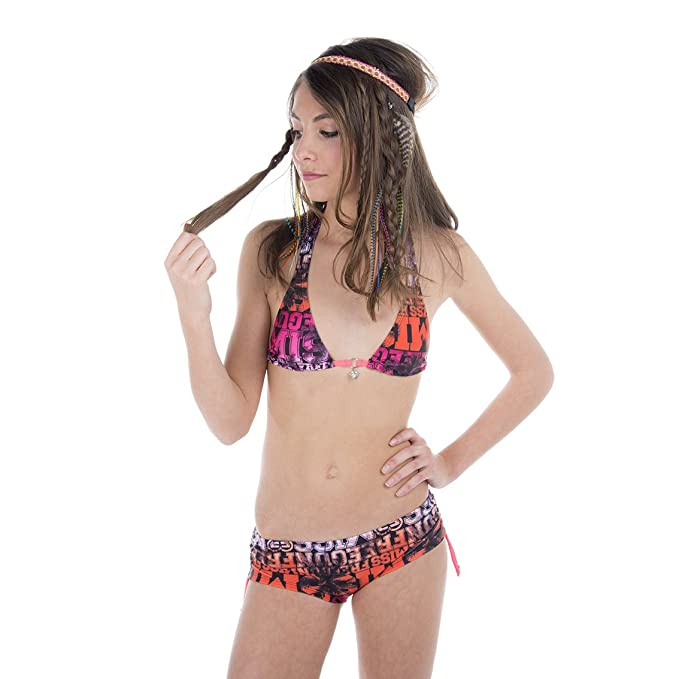 Freegun - Costume da bagno ragazza modello Miss Freegun: Amazon.it ...