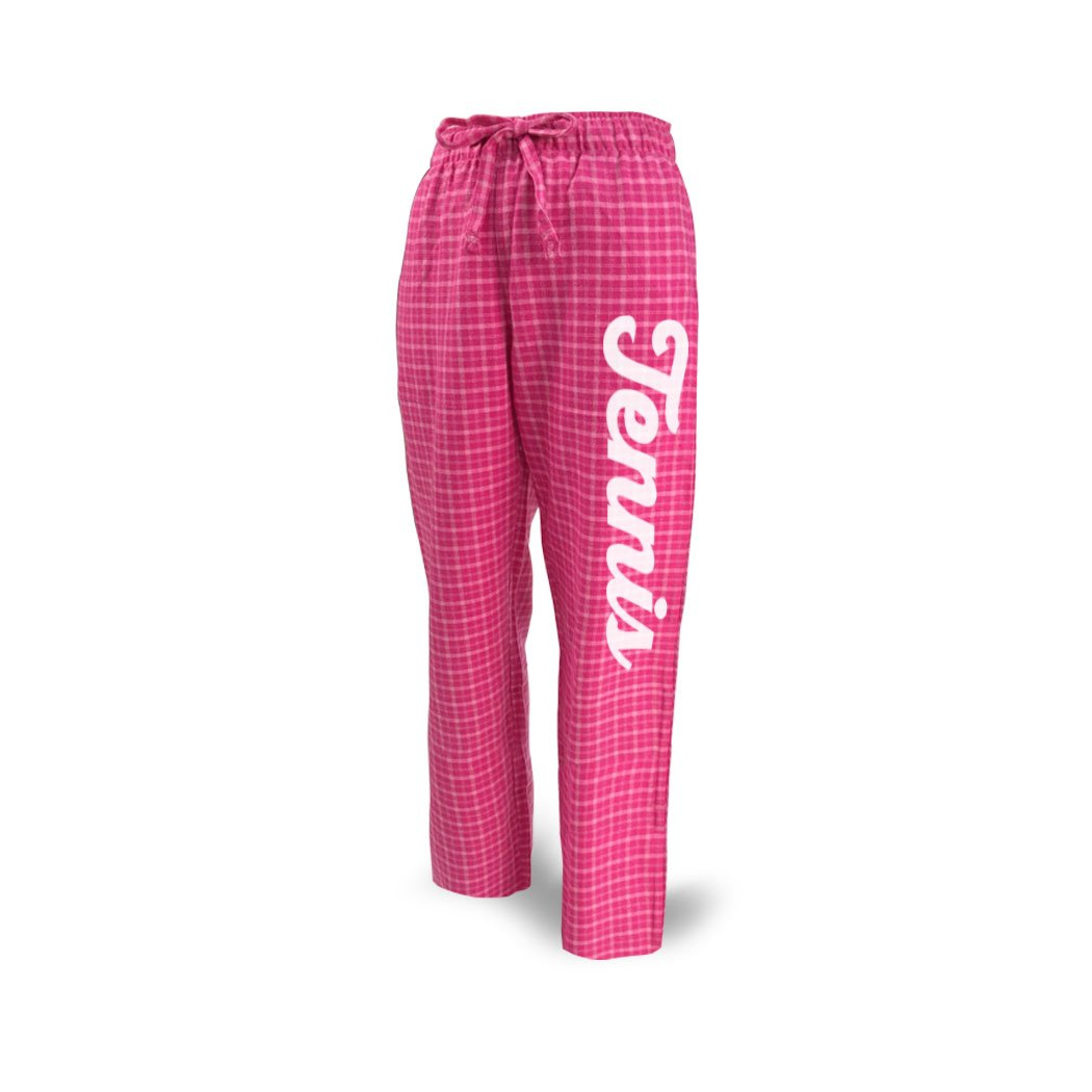 Youth To Adult Sizes Script Lounge Pants Multiple Colors Tennis Apparel by ChalkTalk SPORTS