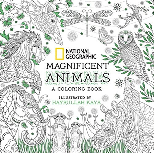 Download Ebook National Geographic Magnificent Animals A Coloring Book PDF