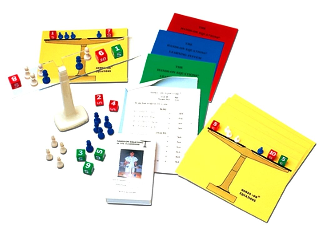 Hands-On Equations Class Set by Borenson and Associates