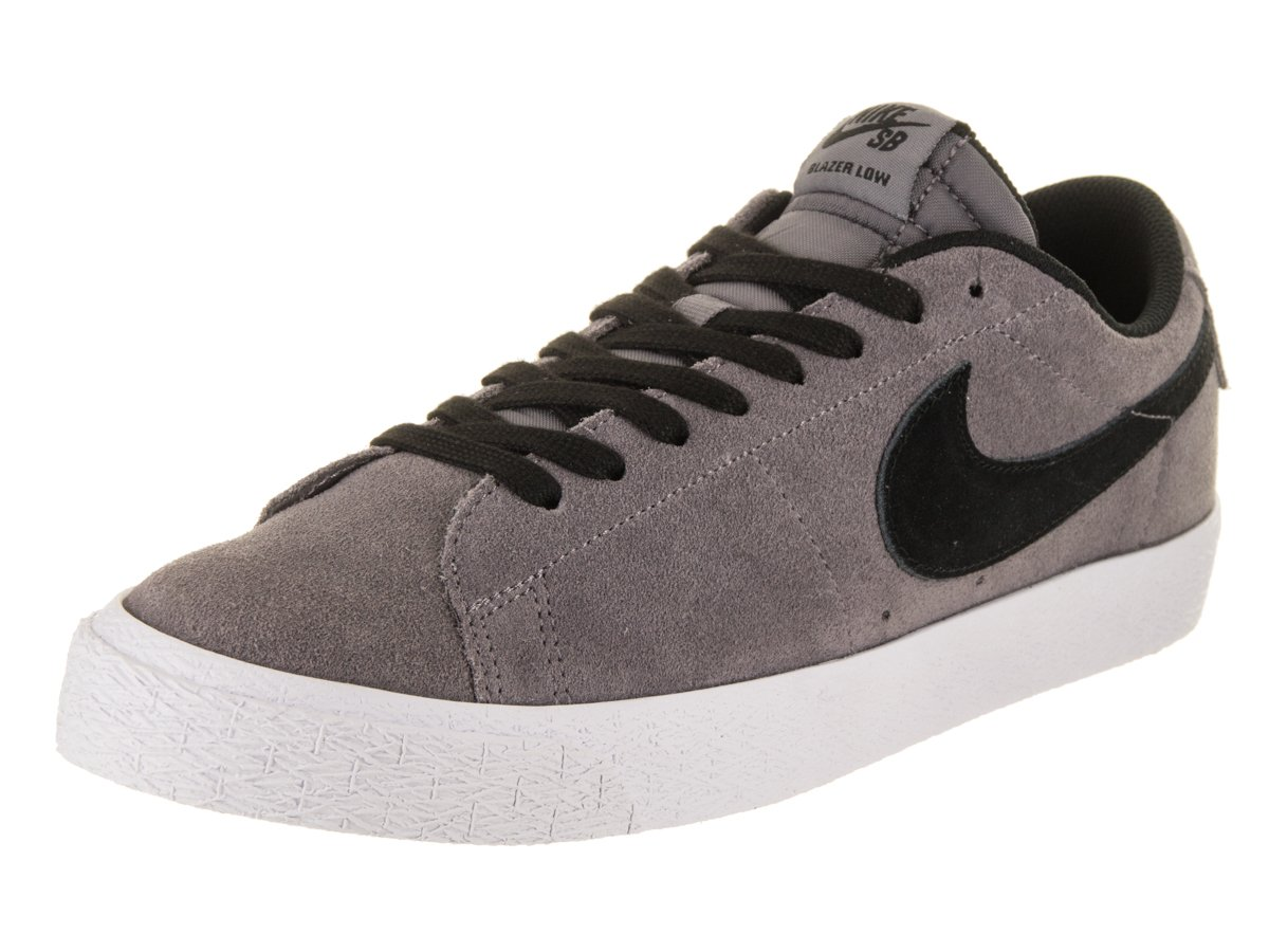 NIKE Men's SB Zoom Blazer Low Gunsmoke/Black Skate Shoe 12 Men US