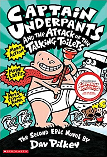 CAPTAIN UNDERPANTS AND THE ATTACK