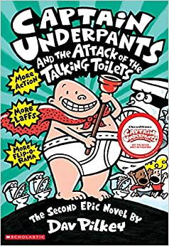 Amazon.com: Captain Underpants and the Attack of the