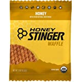 Honey Stinger Organic Waffle, Honey, Sports Nutrition, 16.96 Ounce, Pack of 16