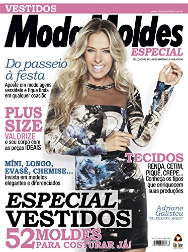Moda Moldes Especial 18 (Portuguese Edition) by [On Line Editora]