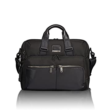 22787a634 TUMI - Alpha Bravo Patterson Brief Laptop Briefcase - 15 Inch Computer Bag  for Men and