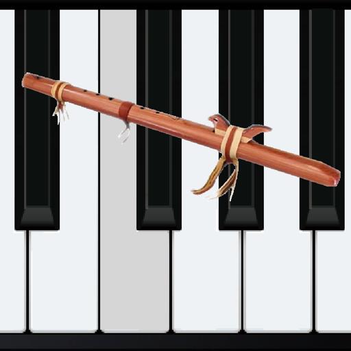 Wood Flute Piano