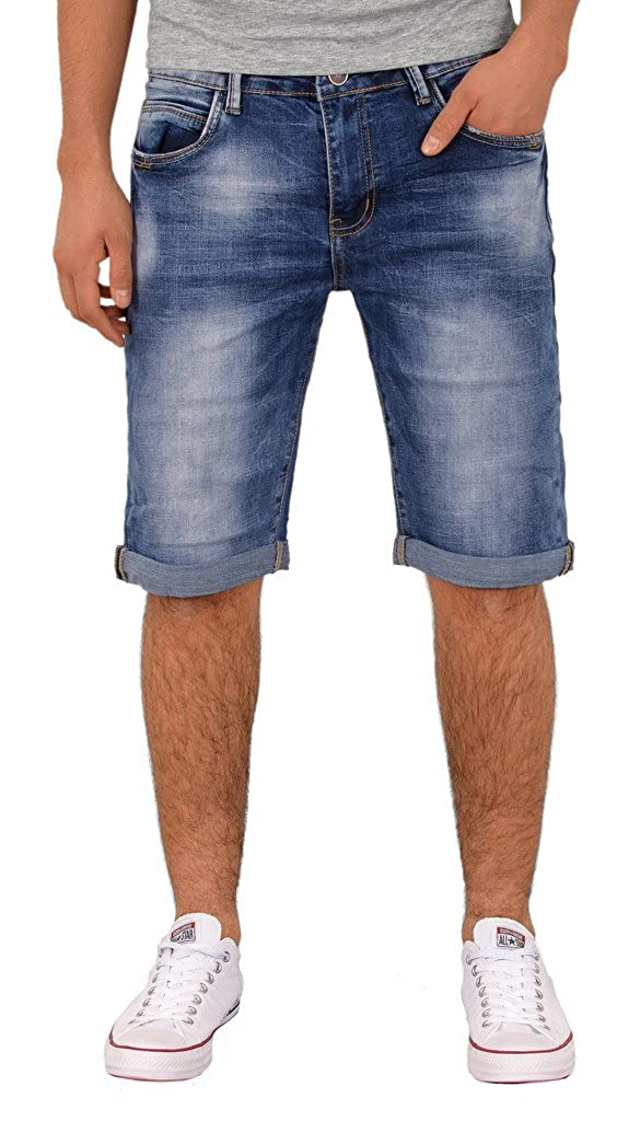 by-tex Homme Jean short hommes bermuda shorts court Jeans grandes tailles  A402 3a36623f7ea