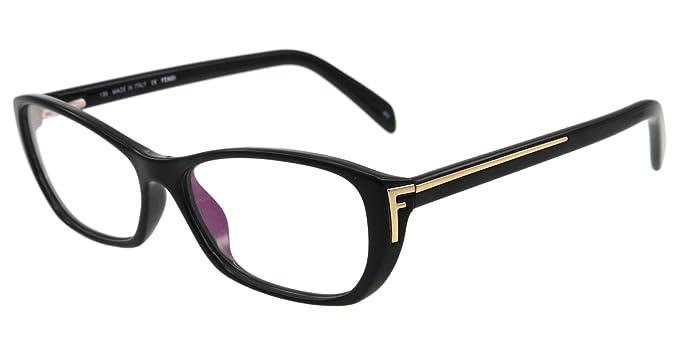 42e6f6bff22 Fendi Eyeglasses F 977 BLACK 001 F977 54MM  Amazon.co.uk  Clothing