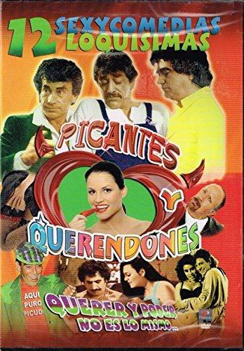 ES [12 PELICULAS] DANDO Y DANDO PAJARITO VOLANDO & DE TODAS TODAS & EL GRAN TRIUNFO & EL INOCENTE Y LAS PECADORAS & EMANUELO & ENTRE FICHERAS ANDA EL DIABLO & ESTA NOCHE CENA PANCHO & HEMBRA O MACHO & LOS HOJALATEROS & LOS SEIS MANDAMIENTOS DE LA RISA & LOS RATEROS & TACOS,TORTAS Y ENCHILADAS. ()