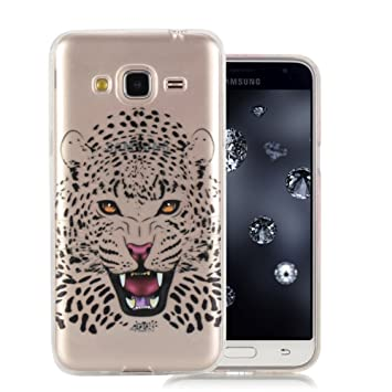 coque samsung j3 2016 tigre