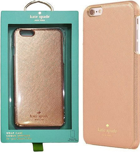 low priced fad8c 549b9 kate spade new york - Wrap Case for Apple® iPhone® 6 Plus and 6s Plus -  Saffiano Rose Gold