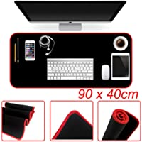 Extended Gaming Mouse Pad Desk Mat, TERSELY Extra Large Size Mouse and Keyboard Anti-Slip Rubber Mat Pad for Gaming and Working - 90x40cm (35.4x15.75in)