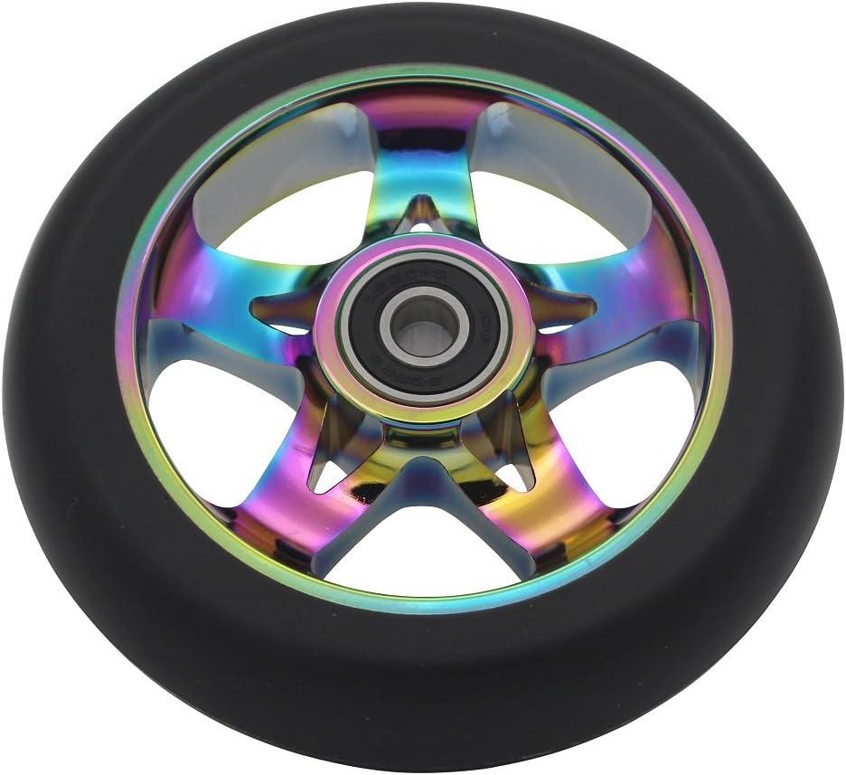 aibiku Pro Stunt Scooter Wheel 110mm Replacement Wheels with ABEC-11 Bearing 2PCS