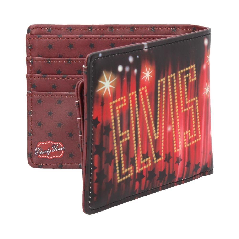 Nemesis Now Elvis Portefeuille en PU Rouge 10 cm Taille Unique