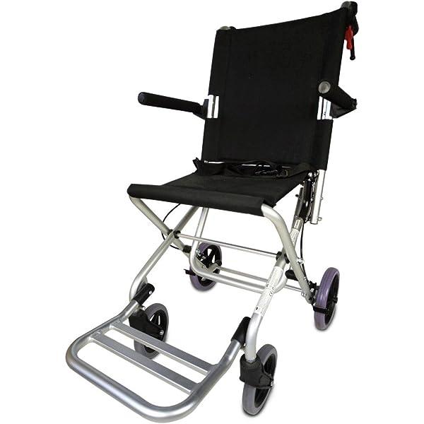 Drive Medical TC005 Travelite - Silla de ruedas (45,5 cm ...