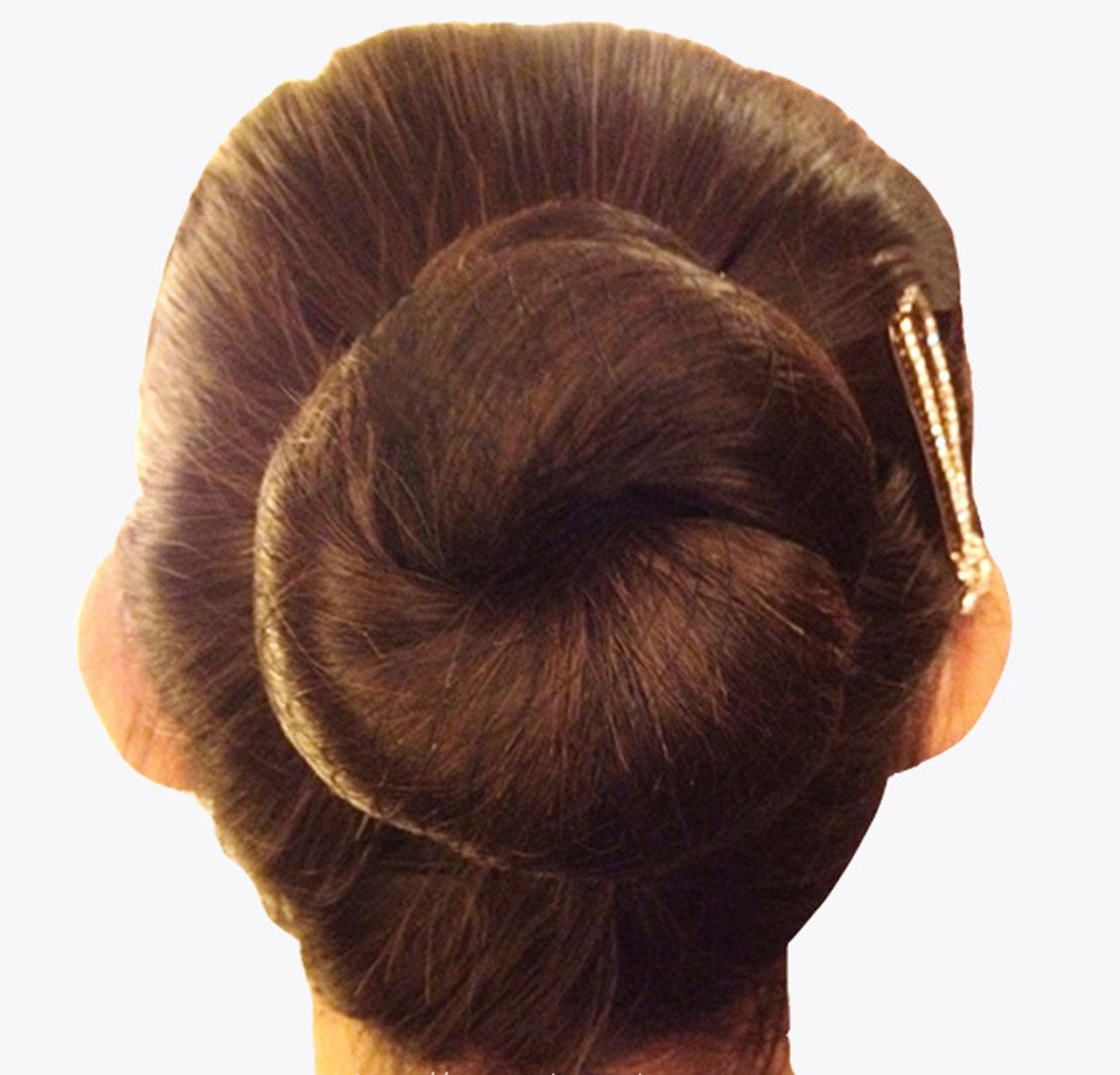 KKTech Pack of 10pcs Hair Nets Invisible Elastic Edge Mesh 50cm(10pcs) (coffee)