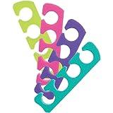 Premium Toe Separators Assorted Colors 12-pr.
